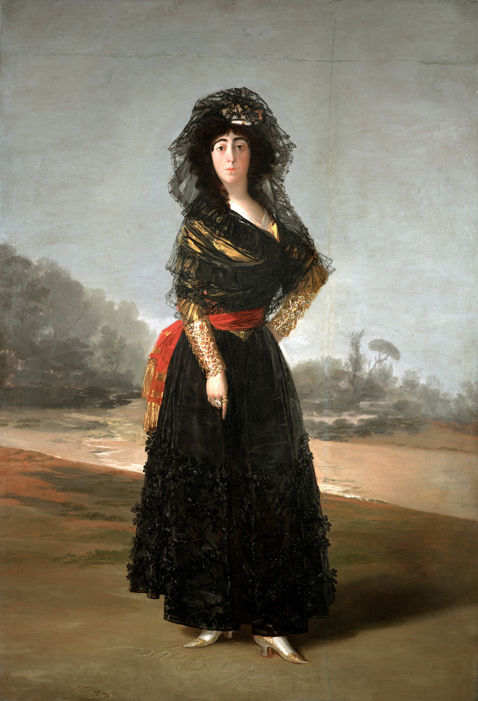 "'La duquesa de Alba"" - Goya, 1797 © Courtesy of The Hispanic Society of America, New York"