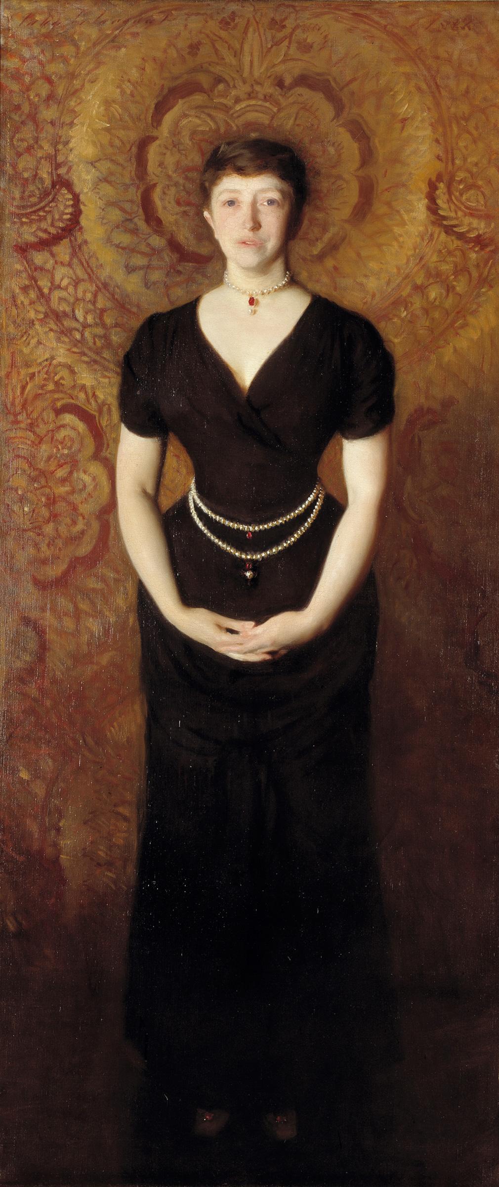 Isabella Stewart Gardner (1888 pintada por John Singer Sargent - Wikipedia