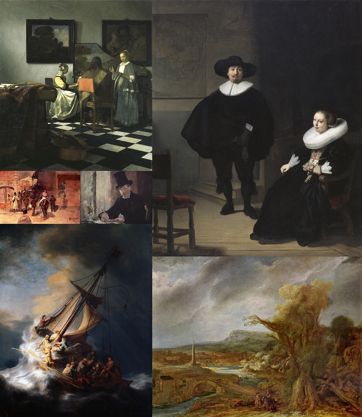 Los siete grandes cuadros robados en Boston en 1990