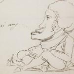 Carta de Goya (detalle) - Museo del Pradi