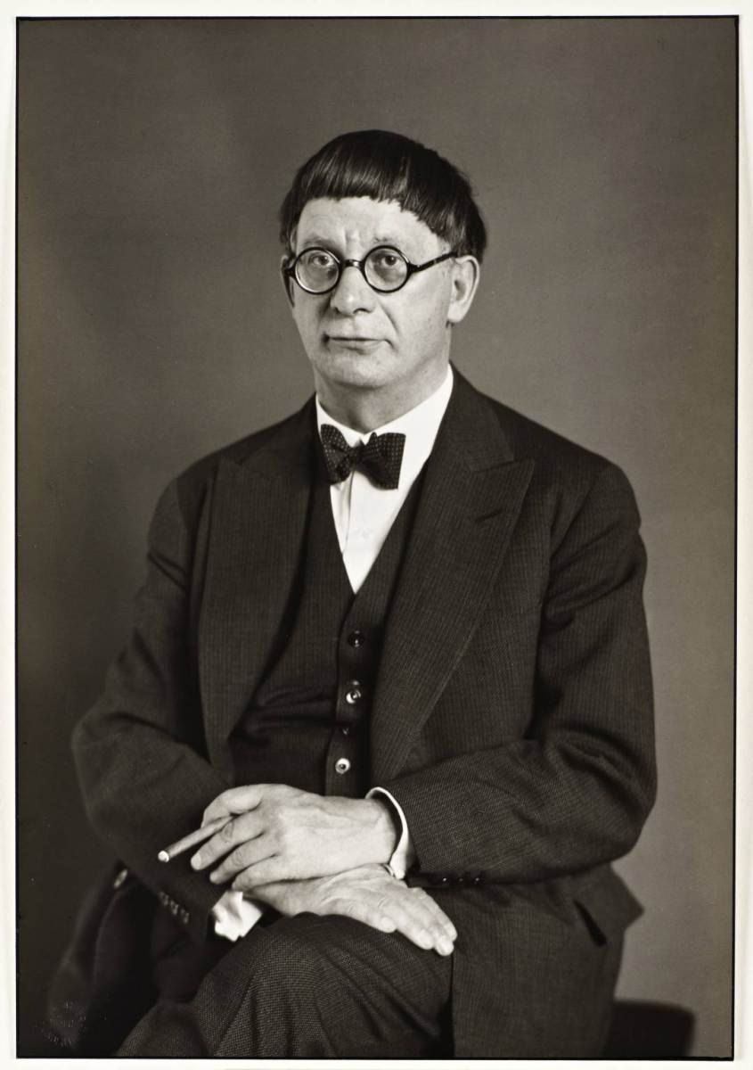 """The Architect"" [Hans Poelzig], 1929. Foto: August Sander - Tate Gallery"