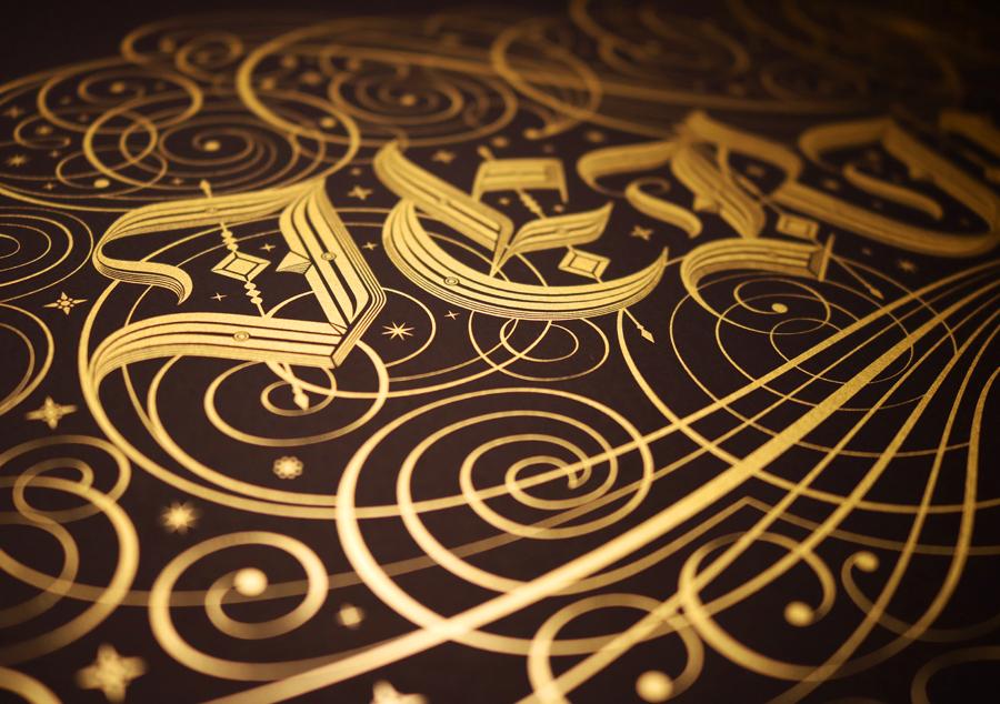 Detalle de 'Jerusalem', de Seb Lester - www.seblester.com