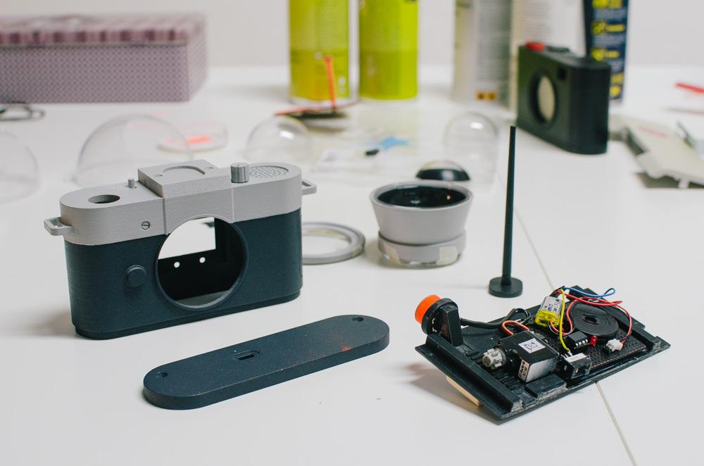 Prototipo desmontado de 'Camera Restricta' - Foto: philippschmitt.com