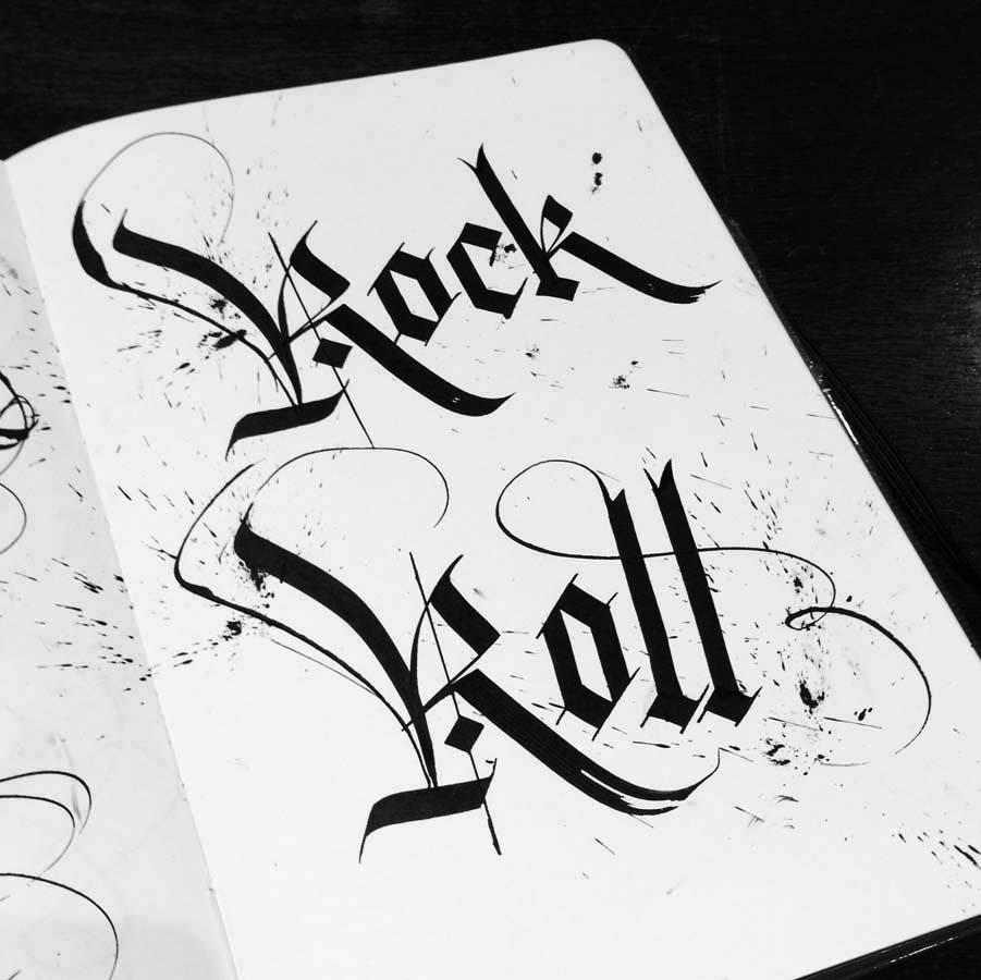 'Rock Roll' - www.seblester.com