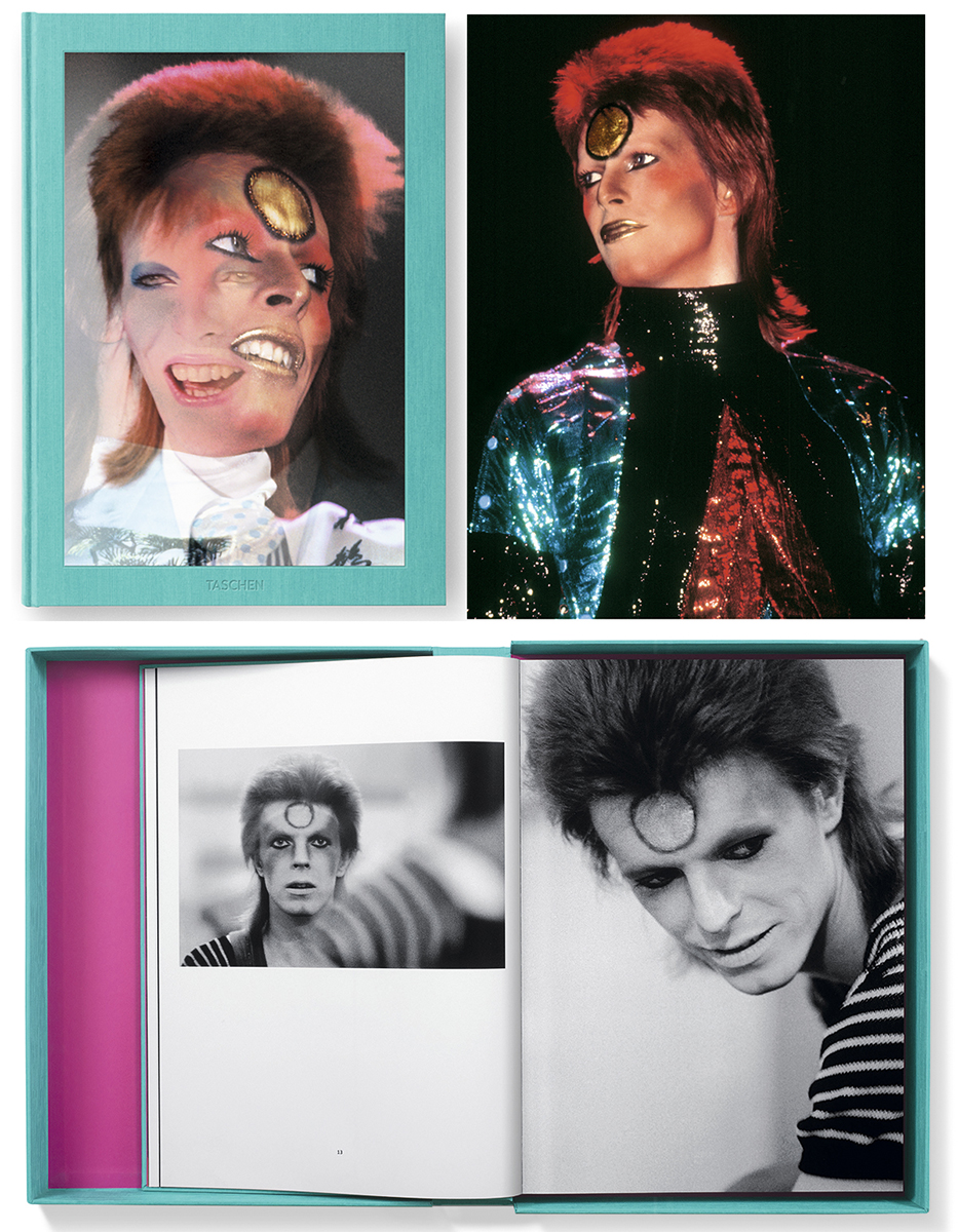 """The Rise of David Bowie"" © Mick Rock - Taschen"