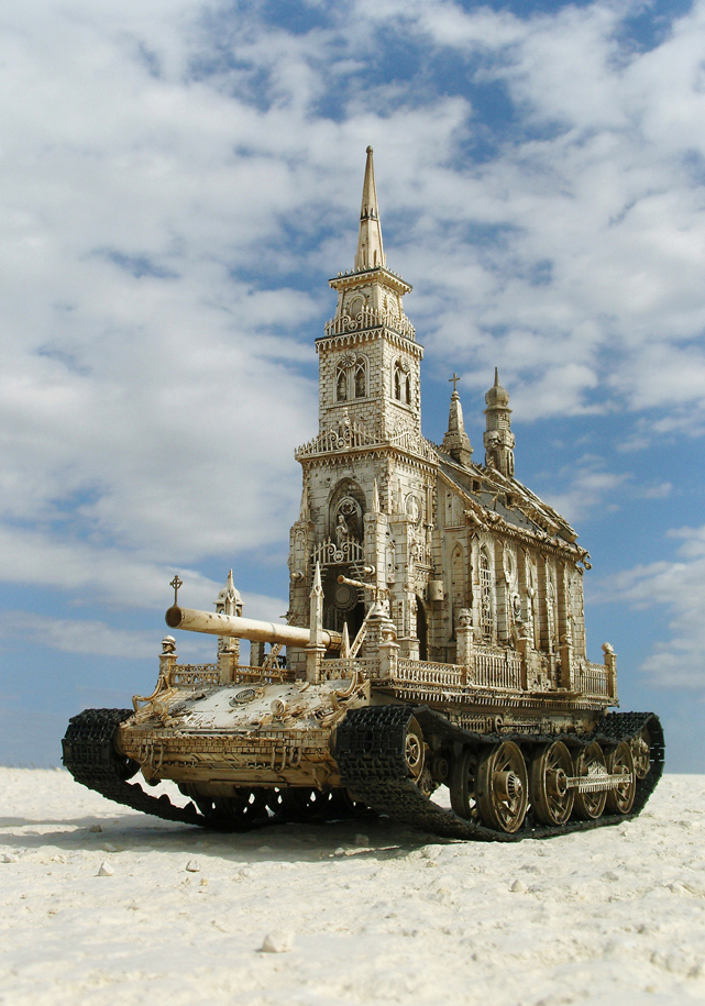 "KRIS KUKSI, ""Churchtank Type 7C"", 2009, Courtesy: KRIS KUKSI & Thames"