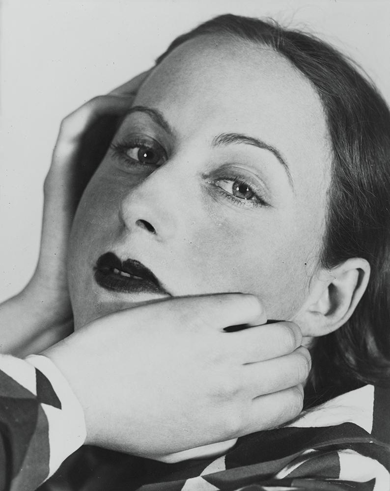 Florence HENRI, 'Portrait composition, Cora', 1931 - © Centre Pompidou, MNAM-CCI, Dist. RMN-Grand Palais / Guy Carrard Florence Henri © Galleria Martini & Ronchetti, Genova © Adagp, Paris 2015