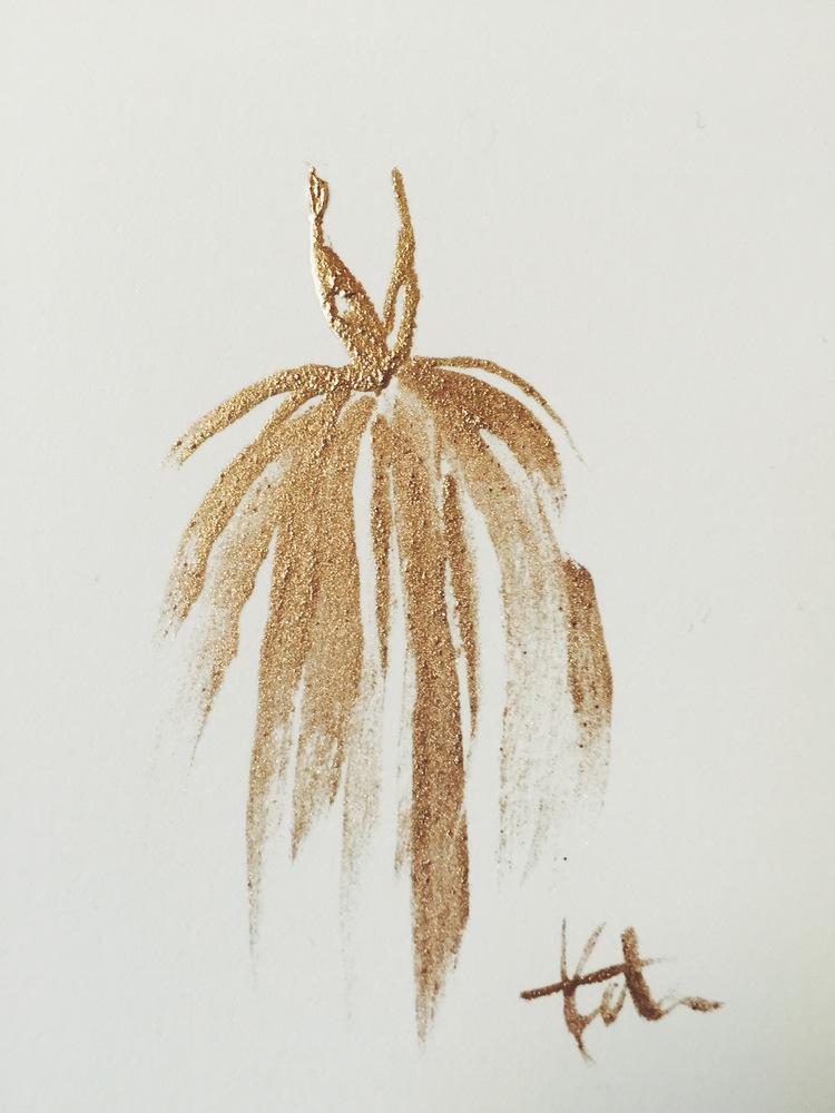 'Golden Gown' - Katie Rodgers