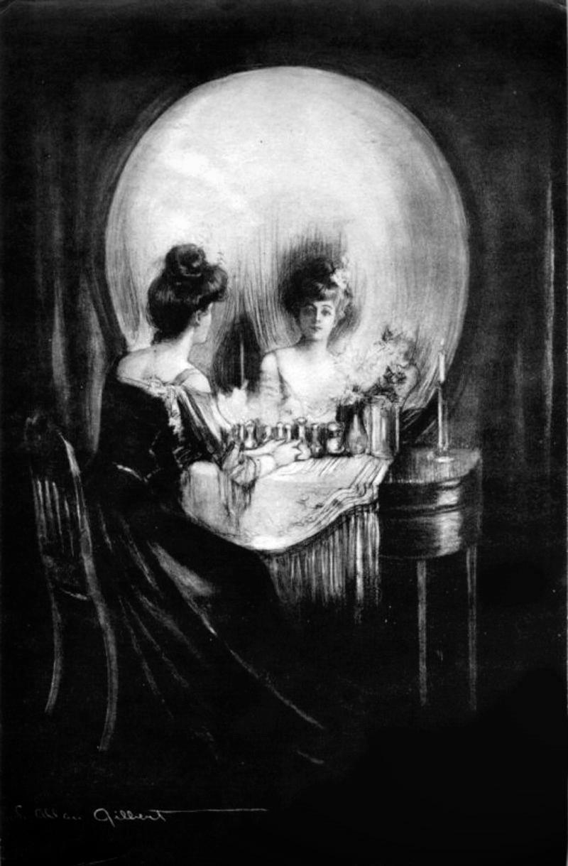 """""""Todo es vanidad"""", de Charles Allan Gilbert (1873-1929) - (Imagen: Dominio Público)"""