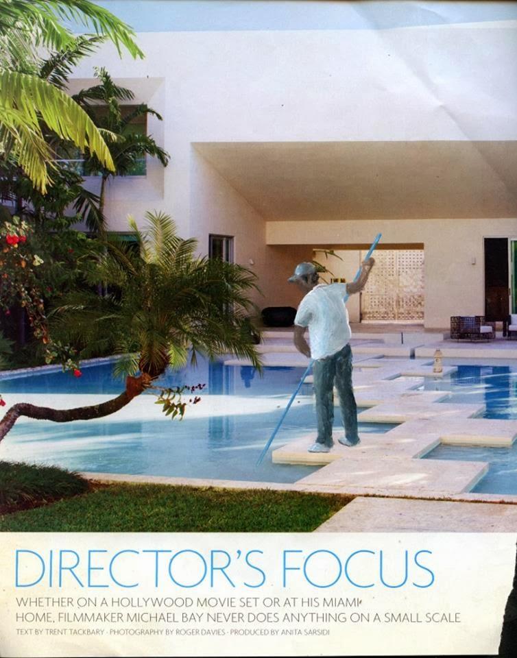 'Delfino, behind the scenes' - Ramiro Gomez Jr.