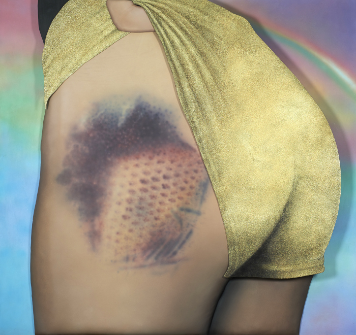 'Fresh Meat in Fishnets' (2015) - Riikka Hyvönen
