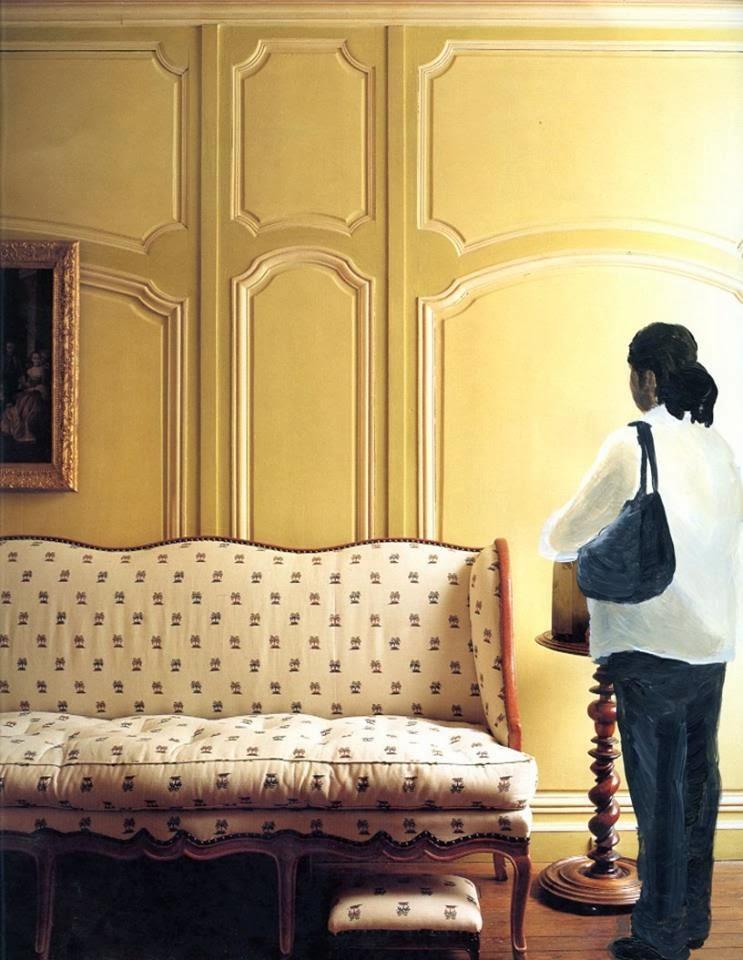 'Maria waiting for her check' - Ramiro Gomez Jr.