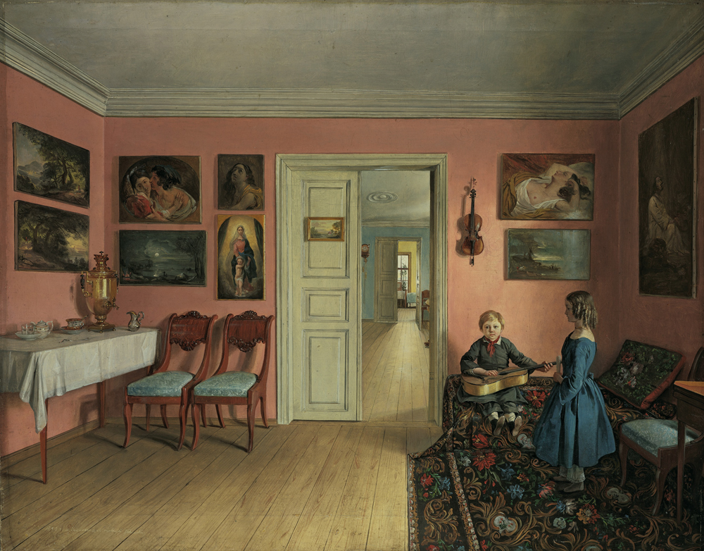 'Painter's Mansion' (1855) - Ivan Khrutsky - Foto: Wikimedia commons