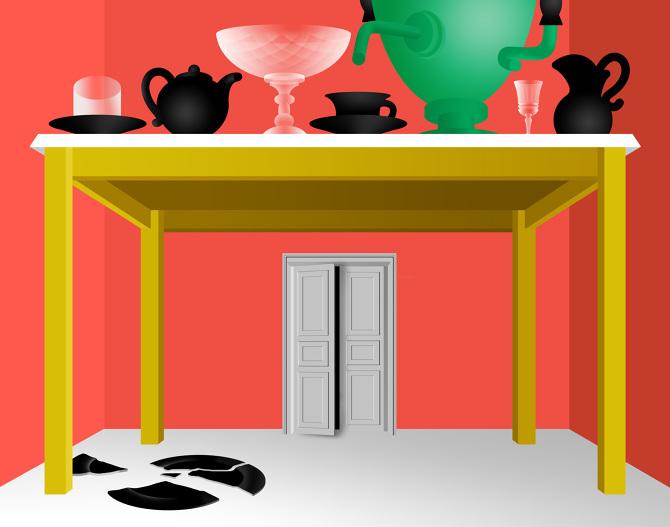 'Painter's Mansion' - Arina Shabanova