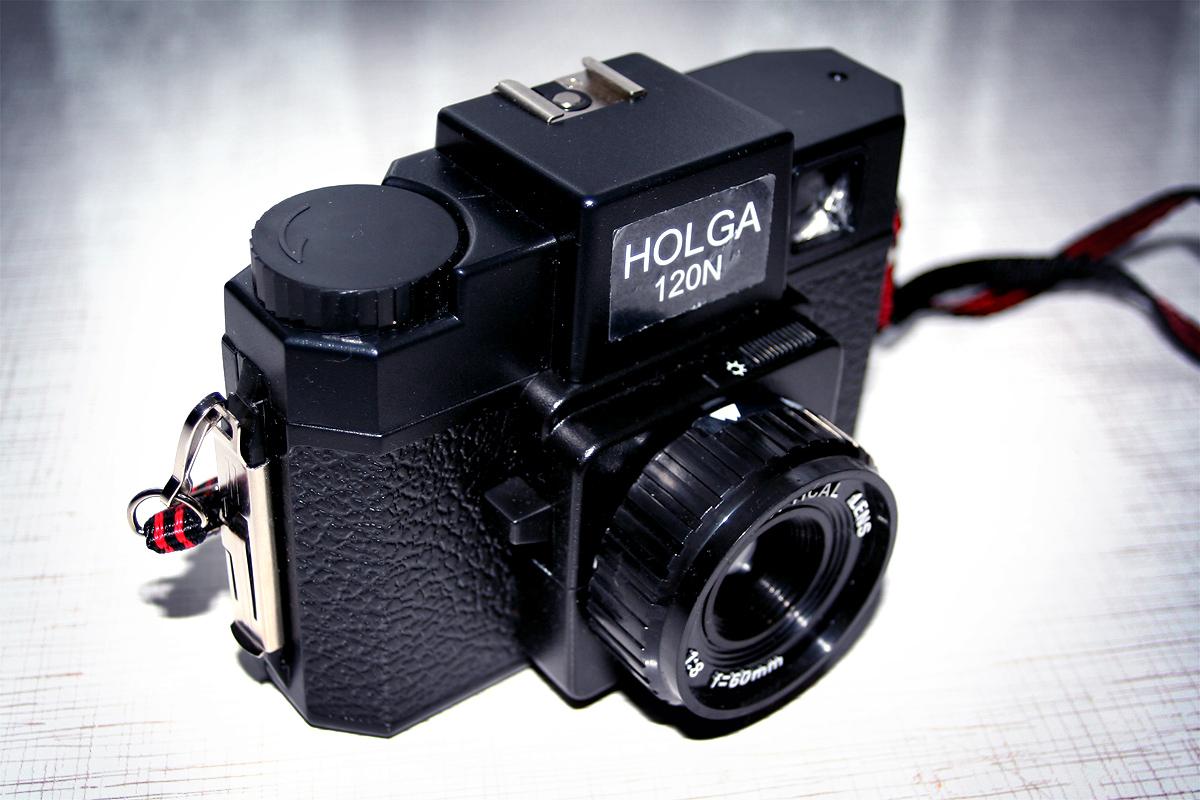 Holga 120 N, una cámara clásica