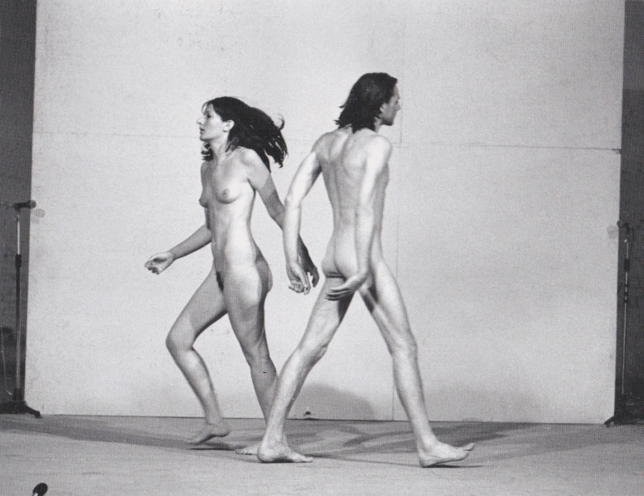 """Relation in Space""Relation in Space, Marina Abramović & Ulay, 1975, Venice (Foto Venezia Biennale)"