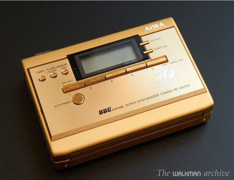 AIWA HS-JX2000 - Imagen: Walkman Archive