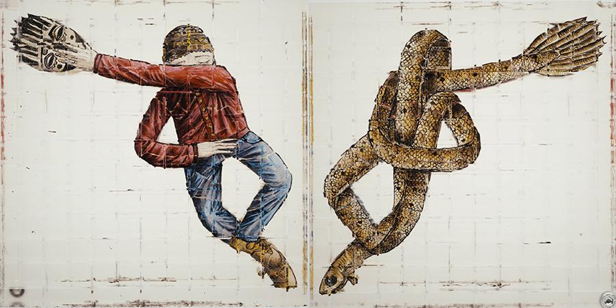 Dos de las ilustraciones homólogas de 'Emergency Lab' - Thomas Medicus
