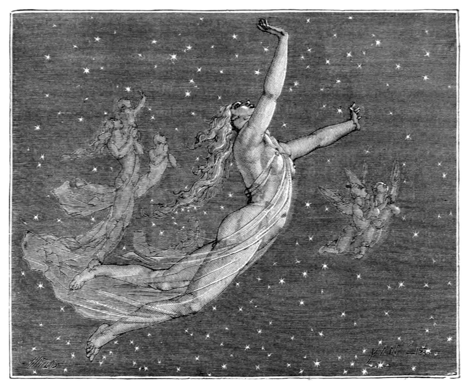 Ilustración de Yan' Dargent para una edición de 1870 de la 'Divina comedia' de Dante