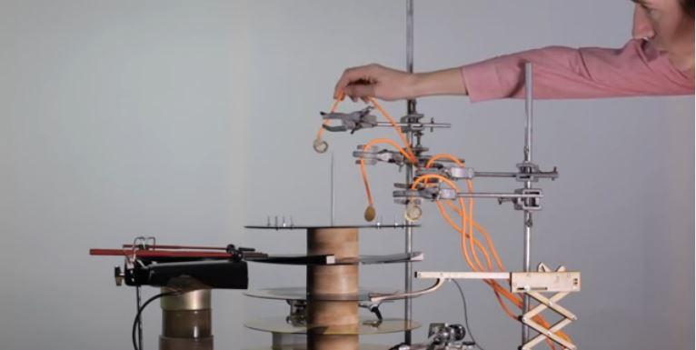 'Mechanical Techno Demonstration' - Graham Dunning