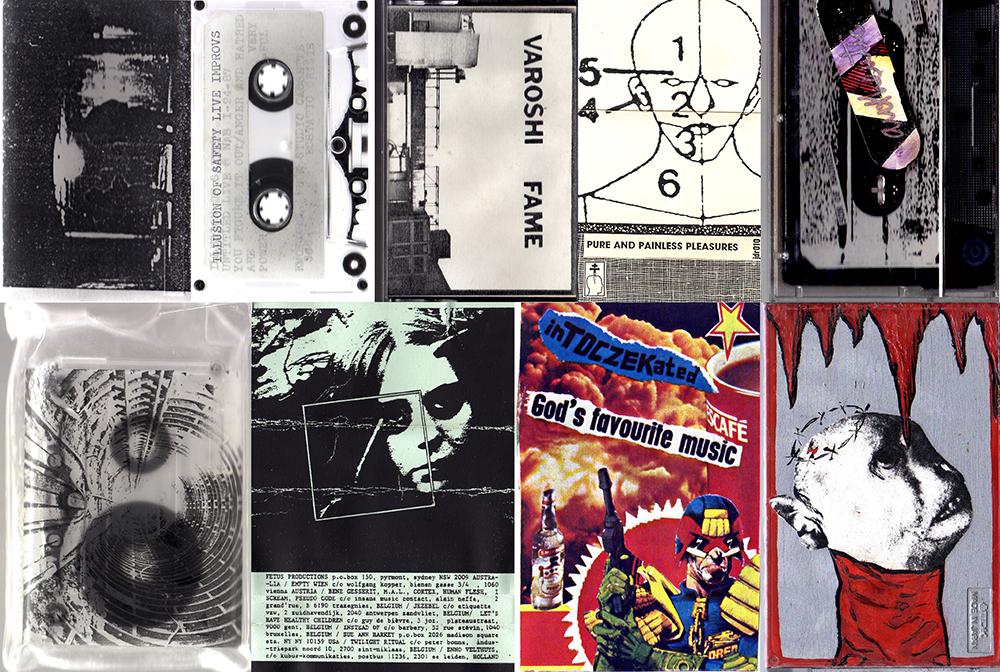 Algunas de las cubiertas de los casetes - Imagen: Internet Archive