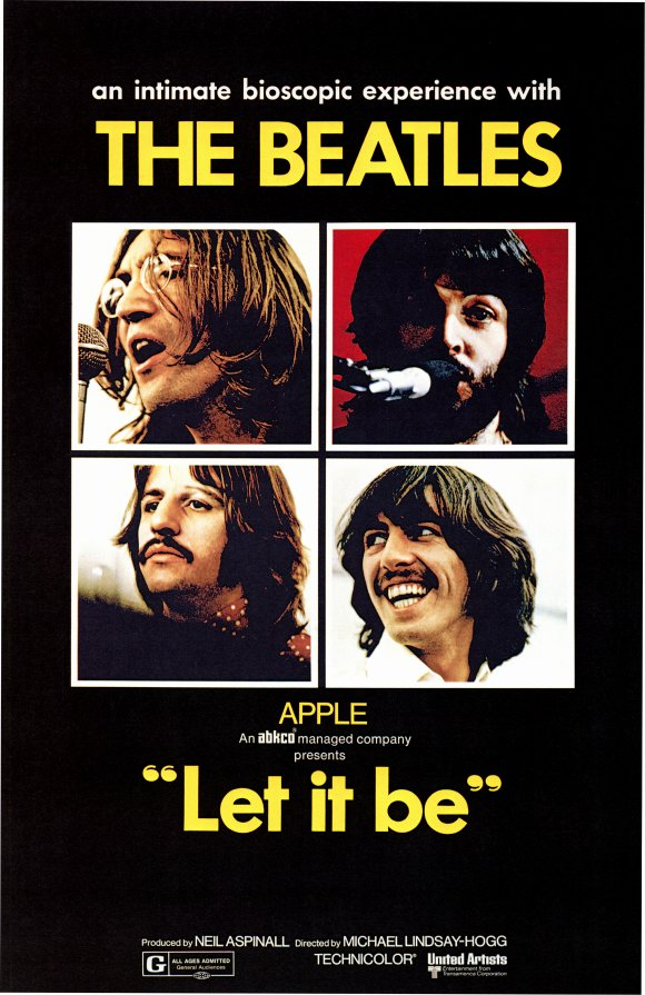 Póster de 'Let It Be', 1970