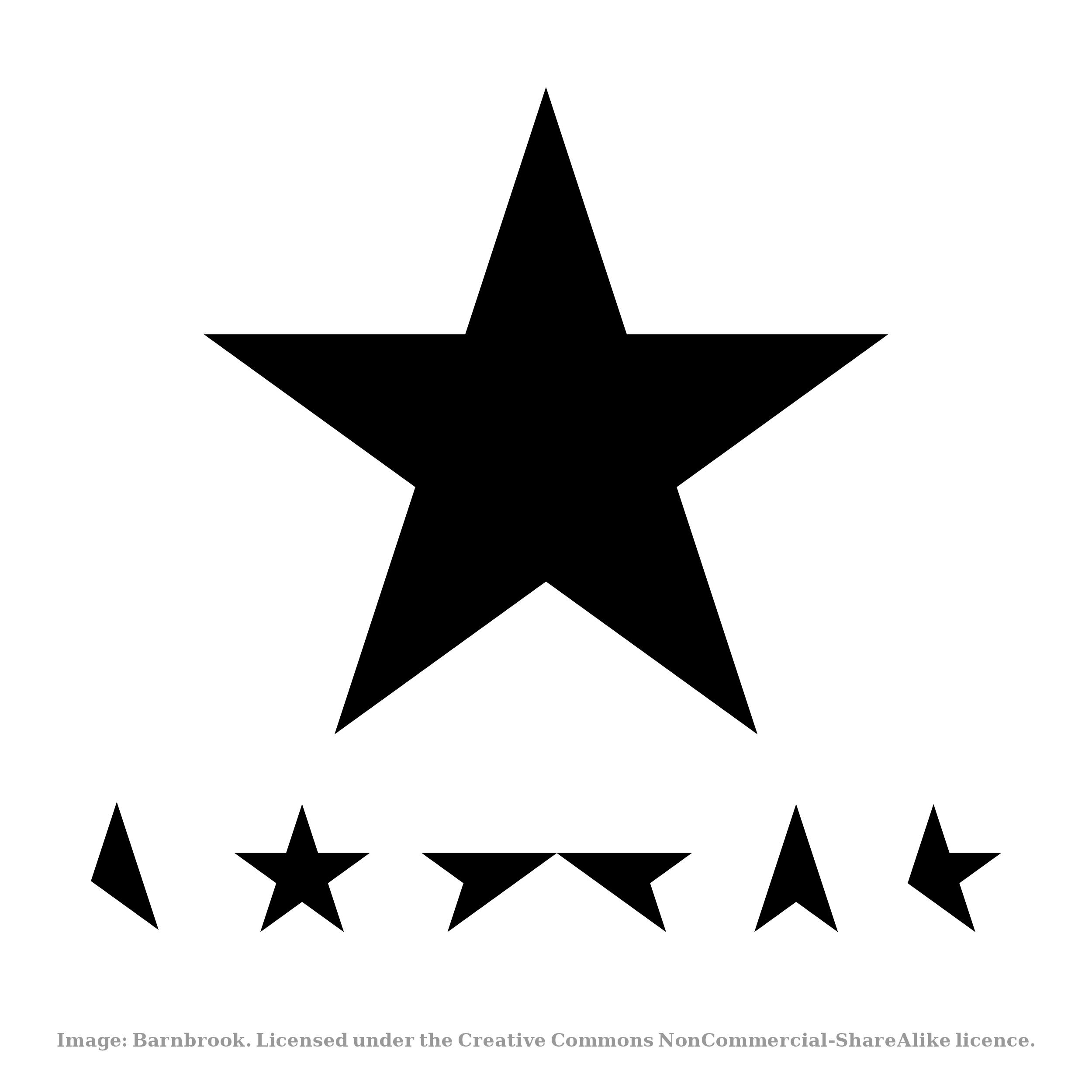 Bowie Blackstar © Jonathan Barnbrook