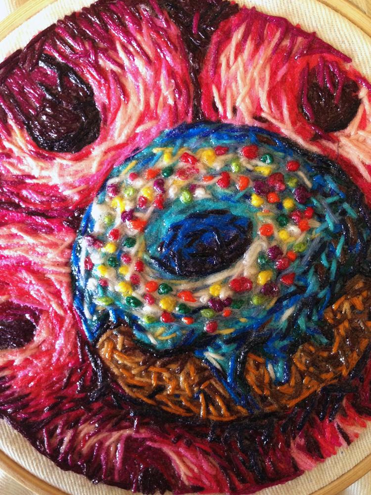 'Dougnut' - Danielle Clough - Foto: danielleclough.com