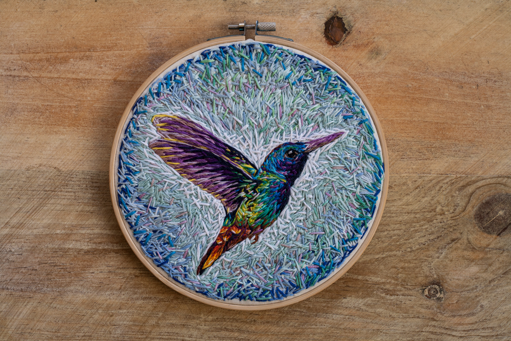'Humming Bird' - Danielle Clough - Foto: danielleclough.com