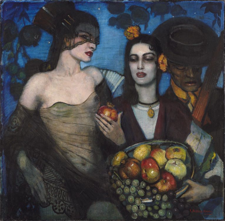 """""""Granada"""" - Federico Beltrán Masses, 1929 - Estate of the artist; his wife Sra. Irene Narezo de Beltrán; her heirs, by descent; Private collection"""