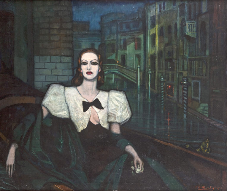 "'Miss Joan CRwaford"", Federico Beltrán Masses, 1932 - Federico Beltrán Masses - Estate of the artist, to his widow, to her heirs; Private collection"
