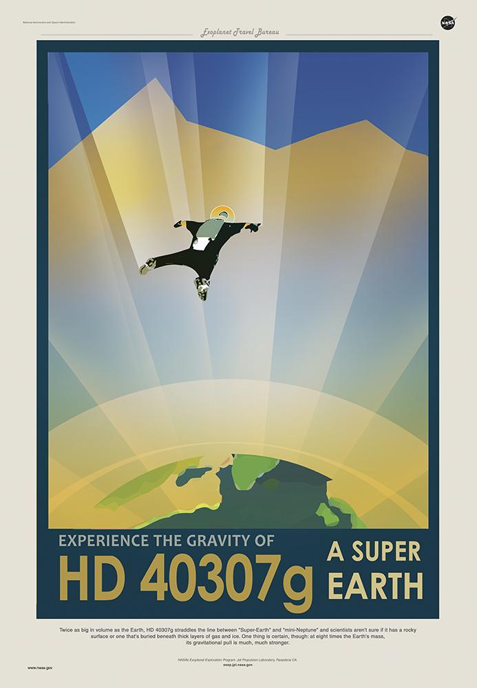 HD 40307g - Courtesy NASA/JPL-Caltech