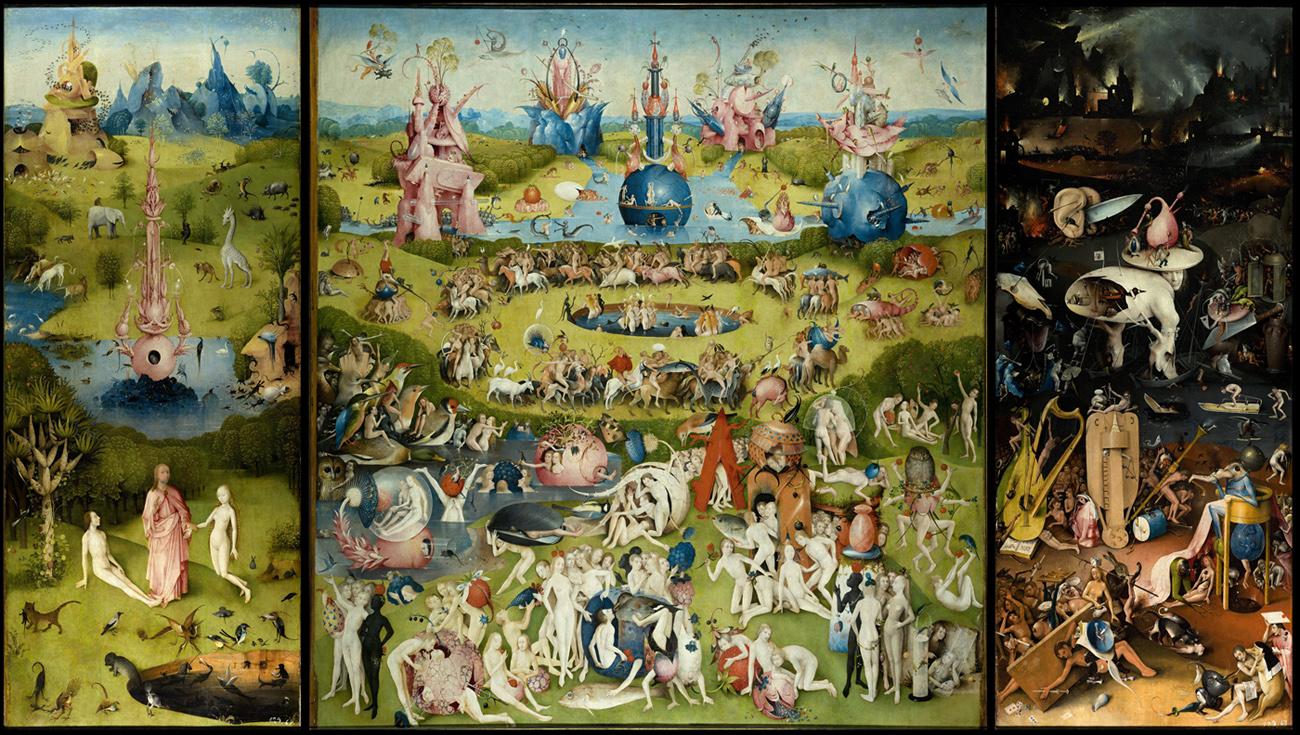 'El jardín de las delicias', c. 1500 - El bosco