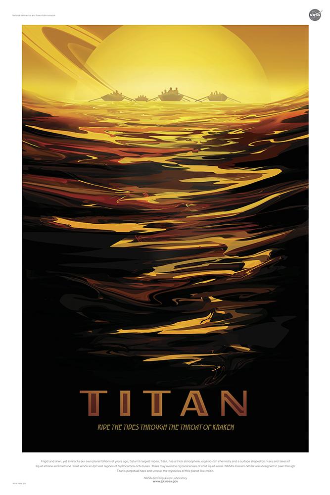 Titan - Courtesy NASA/JPL-Caltech