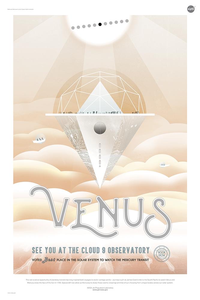 Venus - Courtesy NASA/JPL-Caltech