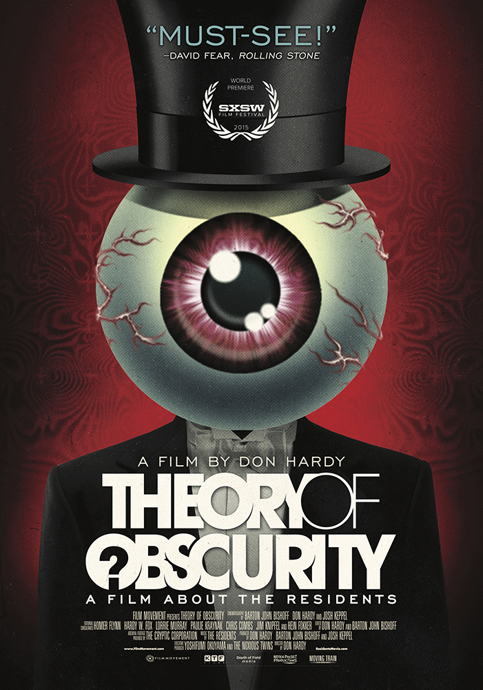 "Póster de ""Theory of Obscurity"""
