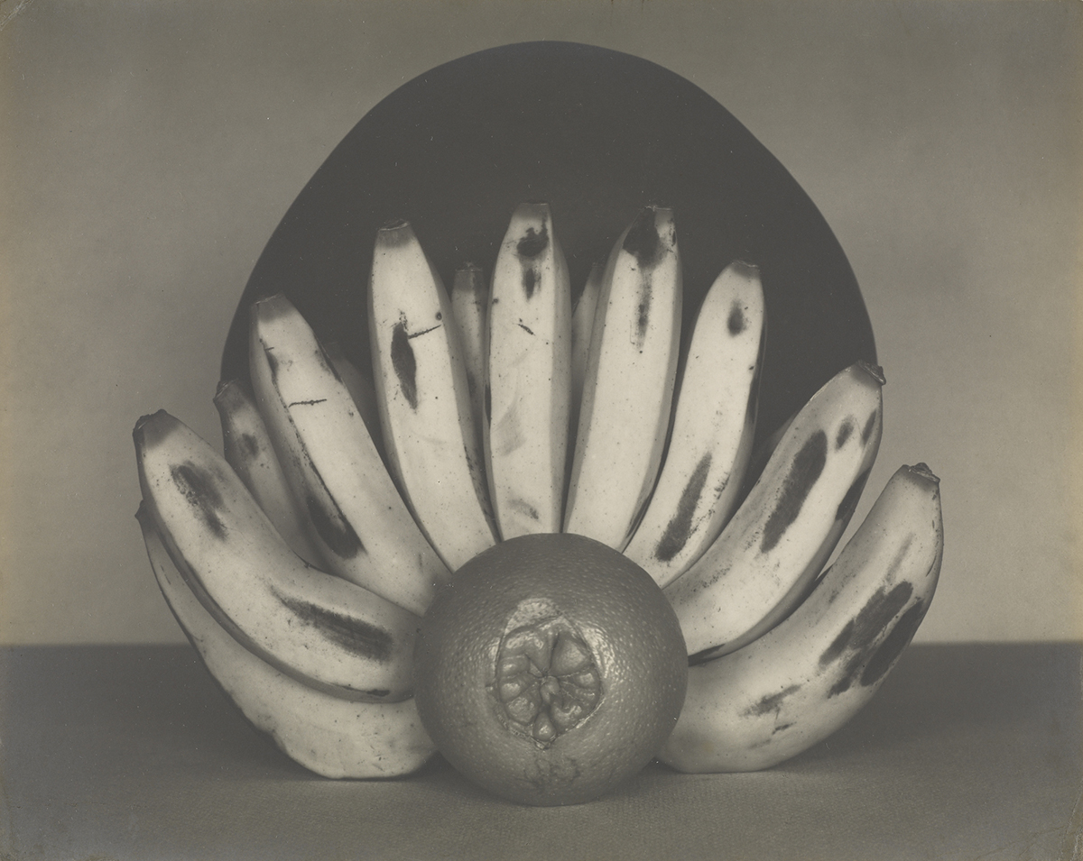 Edward Weston - Still Life with Bananas and Orange 1927 © The J. Paul Getty Museum, Los Angeles