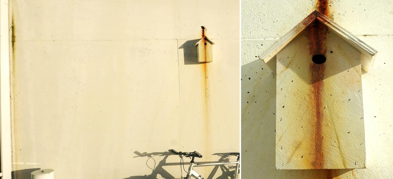 'Rusty Camo House' - Camoflage Bird House Project - Thomas Dambo