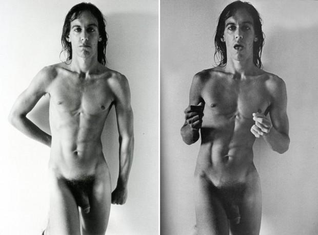 Qué hace Iggy Pop desnudo en una muestra sobre