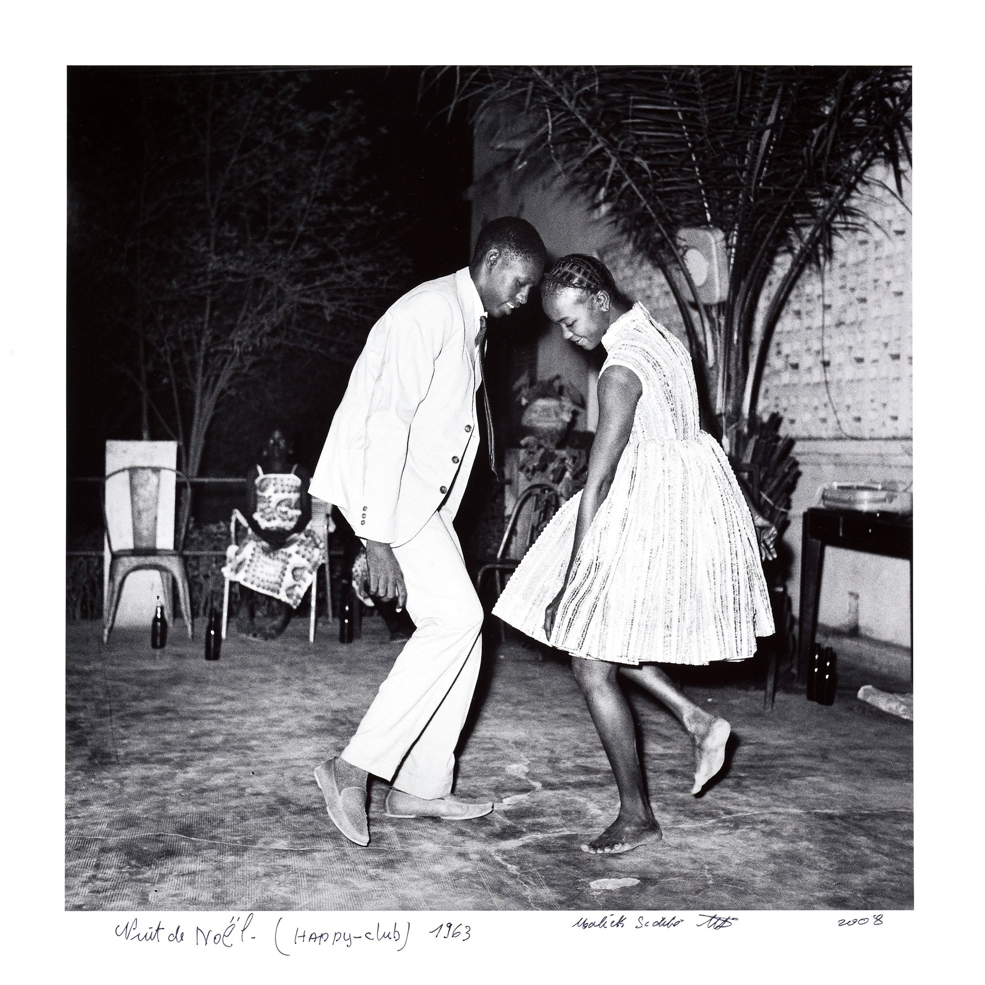 Malick Sibidé - Nuit de Noël (Happy-Club) 1963. Photograph: Franko Khoury/National Museum of African Art