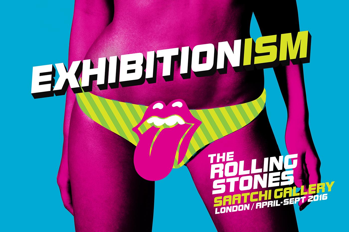 Cartel oficial de la exposición - Foto: Rolling Stones Archive