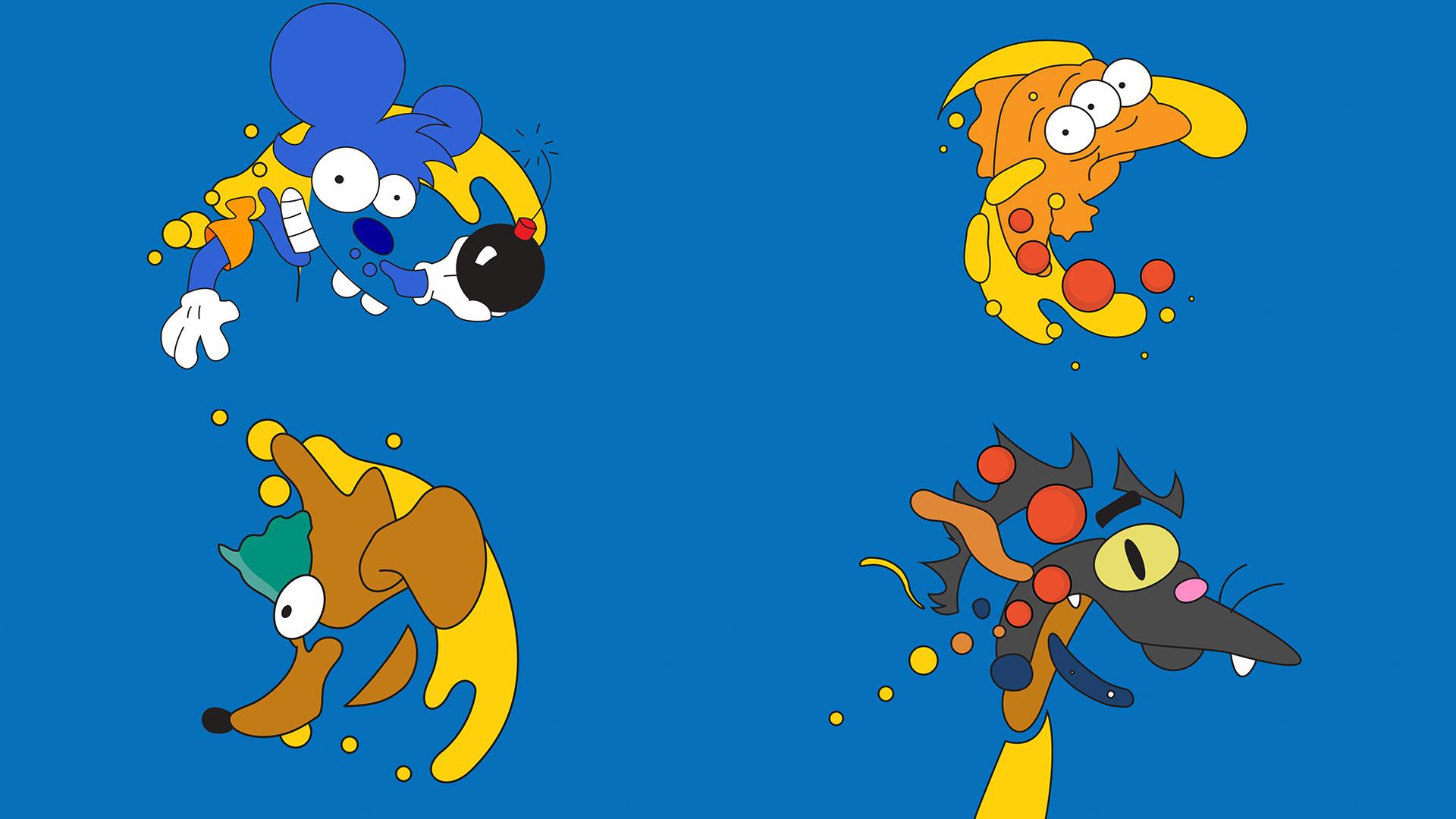 Imagen del estudio Laundry para la animación de los Simpson del canal FX - Foto: www.laundrymat.tv