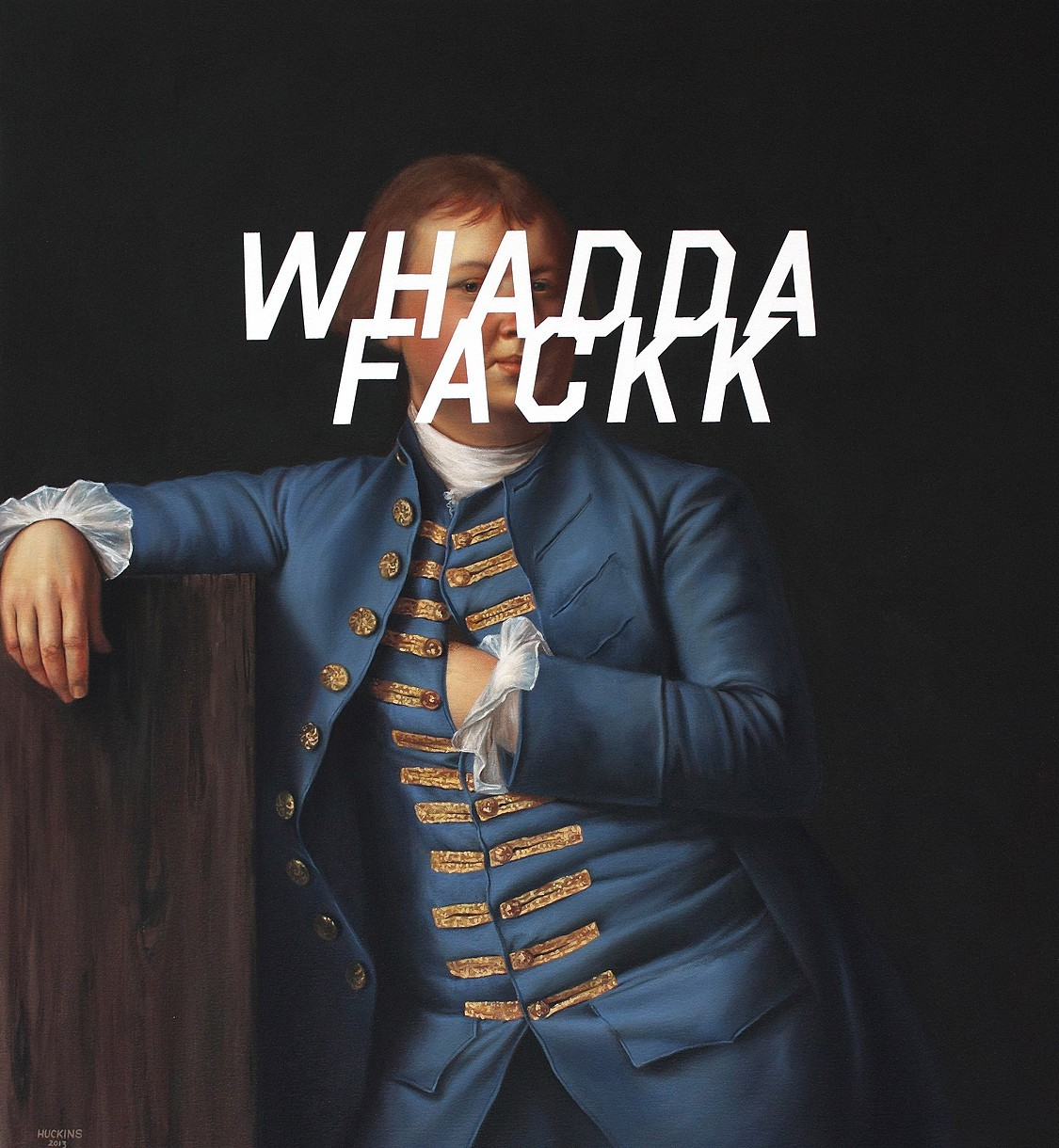'Lemuel Cox. What The Fuck' - Shawn Huckins