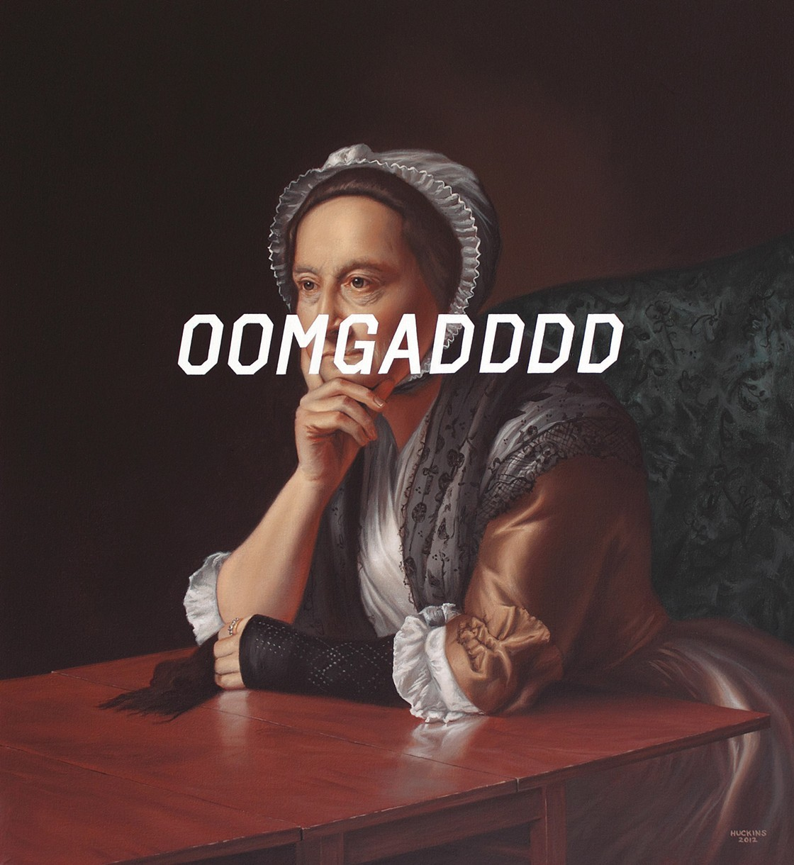 'Mrs. Humphrey Devereux's Extended Oh My God' - Shawn Huckins