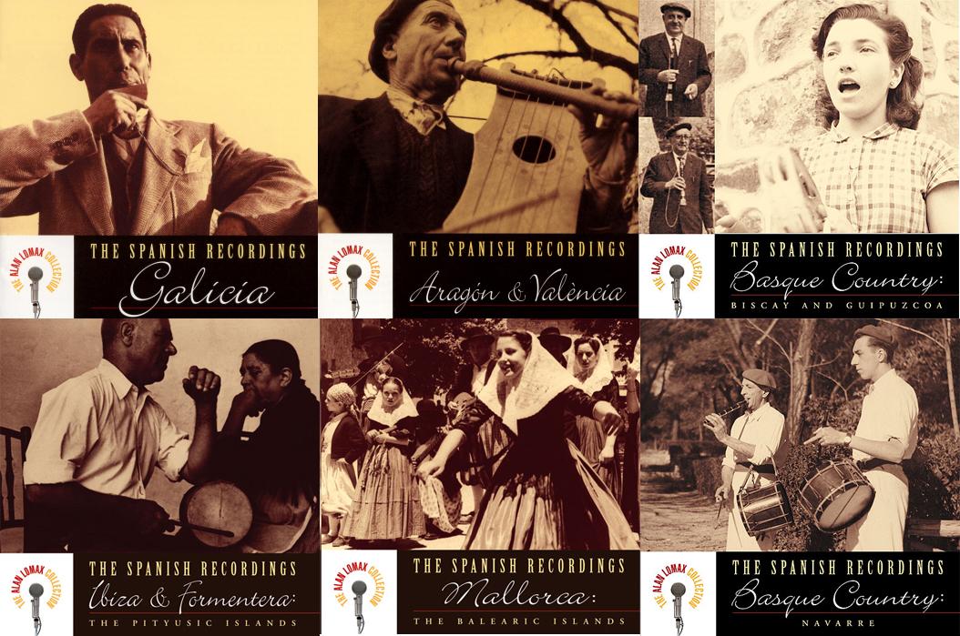 Algunas de las grabaciones españolas de Alan Lomax