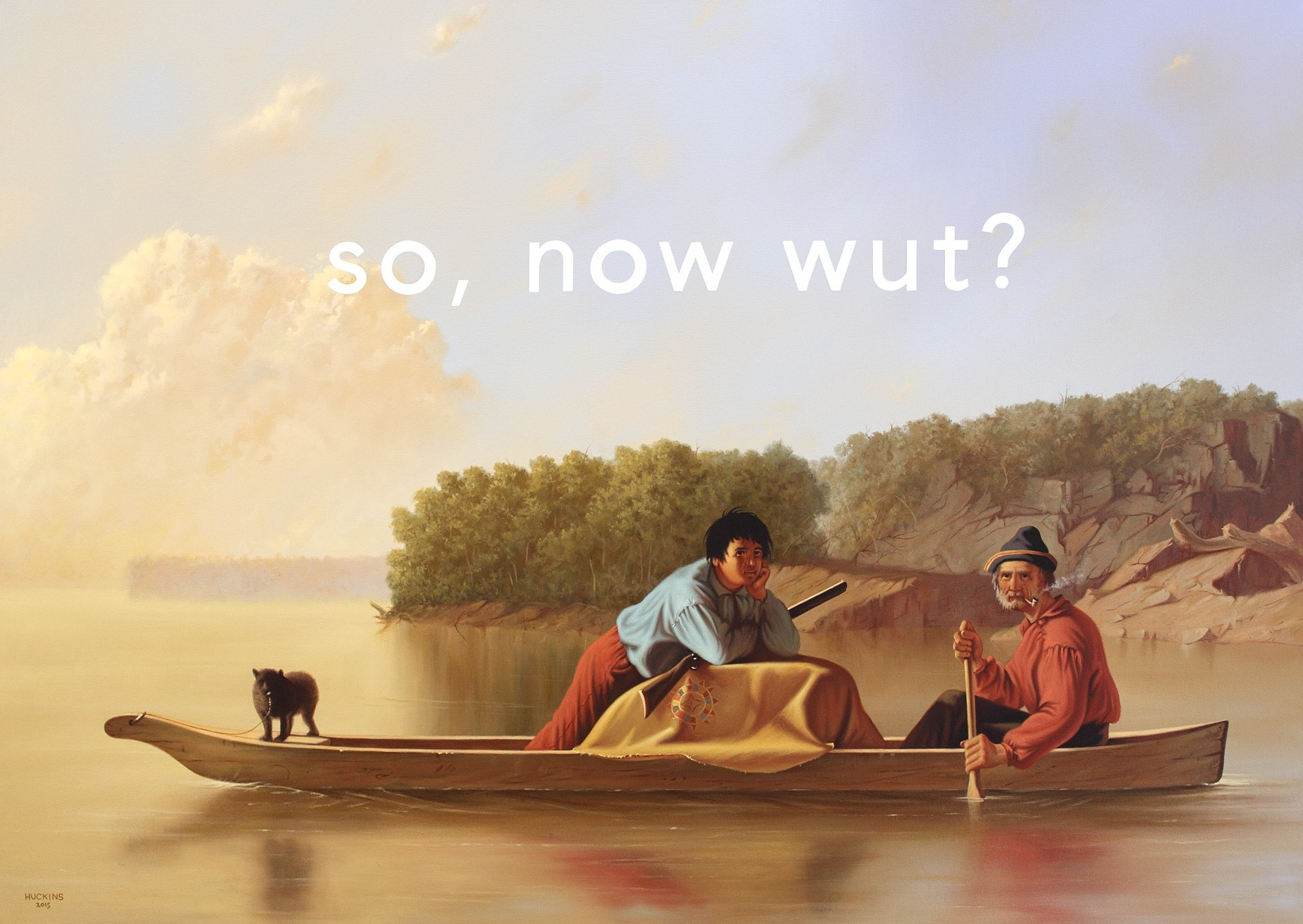 'The Trappers' Return. So, Now What?' - Shawn Huckins