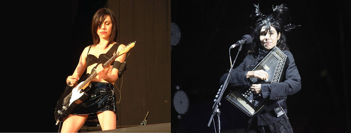 PJ Harvey, antes y después