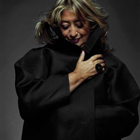 Zaha Hadid (1950-2016) - Foto: Zaha Hadid Architects