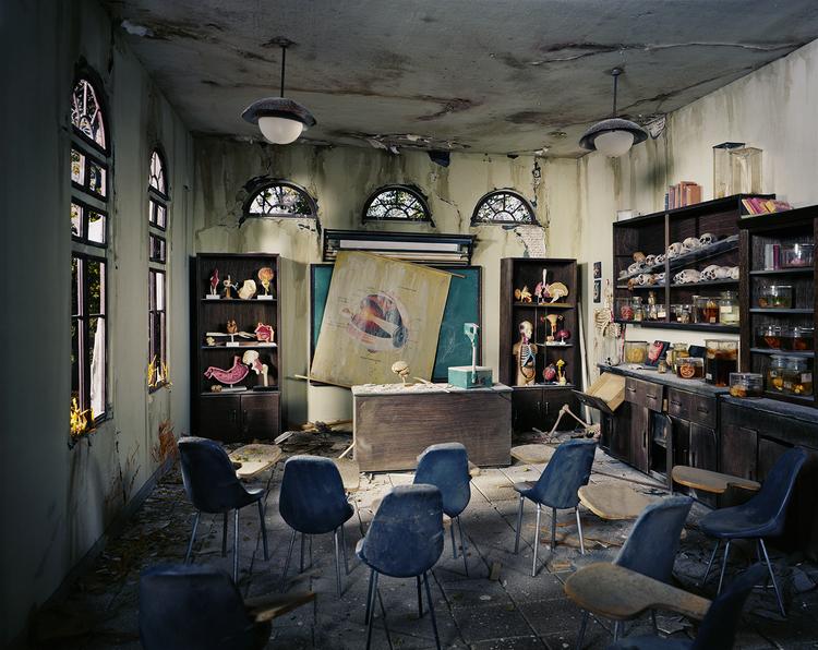'Anatomy Classroom' - Foto: Lori Nix (lorinix.net)