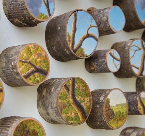'Oval Landscape I' (detalle) - Alison Moritsugu - Foto: alisonmoritsugu.com